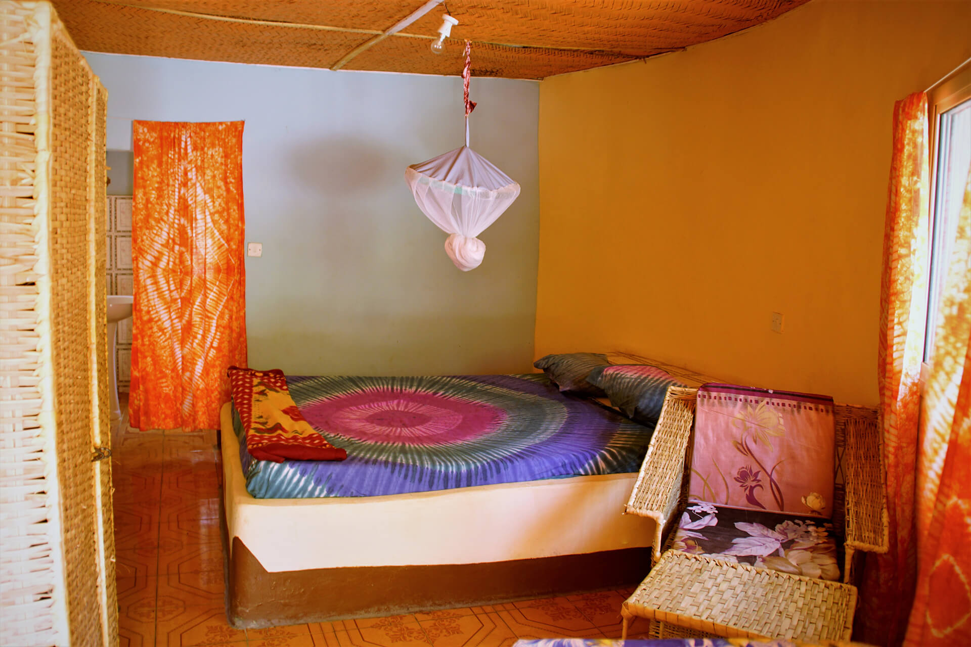 Bedroom in Halahain Lodge
