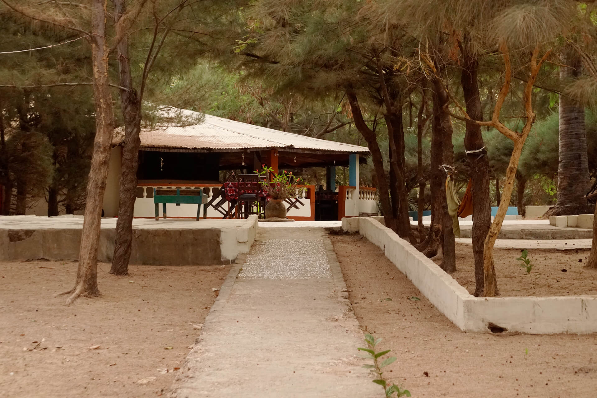 Halahin Lodge Pathway